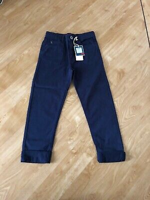 BNWT Joules Boys Navy Chinos Age 7-8 RRP £30