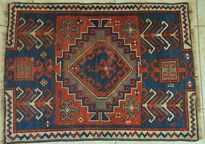 Hanknotted Traditional Kazak carpet, teppich