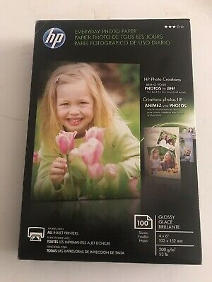 HP CR759A Everyday Glossy Photo Paper - 100 Sheets 4 x 6 in  CR759A