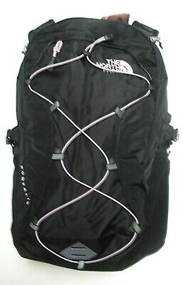 The North Face Womens Borealis Backpack- Daypack- A3Jv4- Tnf Black/ Ashen Purple