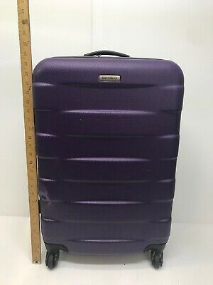 "Samsonite Signat Hard Case Expandable 26"" Spinner Luggage Gray"