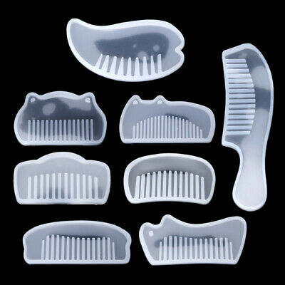 Jewelry Comb Mould Silicone Mold Resin Casting Craft Supplies DIY