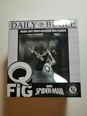 Spiderman Webslinger Q-Fig Variant Lootcrate Exclusive New in Box