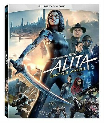 Alita: Battle Angel Blu-ray/DVD (2019) Movies starting at a Penny FREE SHIPPING