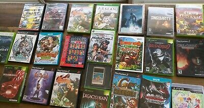 LOT OF 23 - Xbox One 360 PS2 PS3 Wii U PC Engine Genesis Video Games Wholesale !