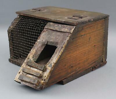 Antique Country Primitive, Handmade Mouse Trap Cage, NO RESERVE