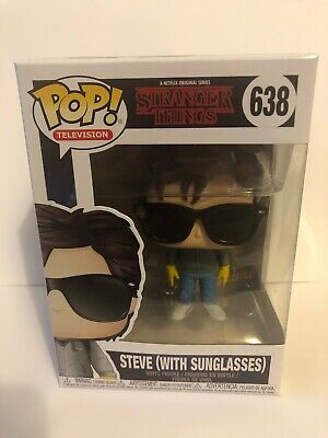 FunKo POP! Stranger Things - Steve (With Sun Glasses) Vinyl Figure