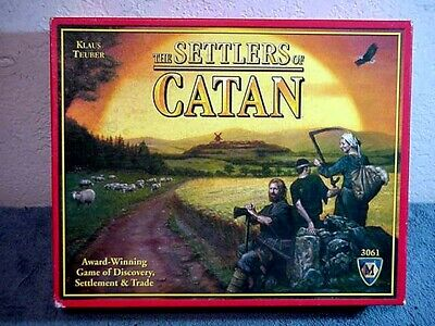 The Settlers of Catan Board Game 3061 COMPLETE
