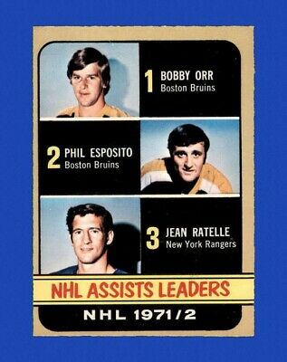 1972-73 O-Pee-Chee Set Break #283 Assists EX-EXMINT *GMCARDS*