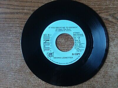 RARE PROMO 1970S MINT-EXC+Dennis Ledbetter The Boss Keeps Laying It On ME1010 45