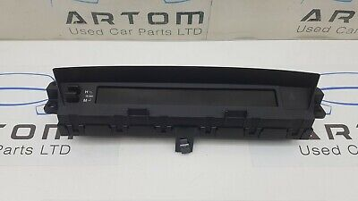 2011 Mazda 6 Hatchback Dashboard Display Screen Gdk4-611J0