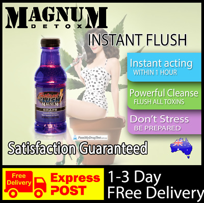Magnum Detox Instant Flush Detox Drink Clear Clean Urine Toxins Pass Test