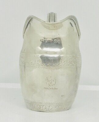 Rare antique English  sterling  solid silver Jug , London ,1796