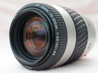 SUPERB MINOLTA 70-210mm MINOLTA A/SONY ALPHA MOUNT AF ZOOM LENS - EXCELLENT!