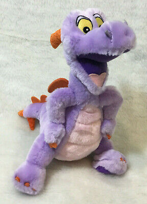 "Disney Parks Authentic Epcot Figment Plush 10"" stuffed animal toy"
