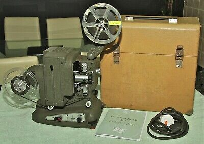 BOLEX M8 STANDARD 8mm FILM PROJECTOR in original case