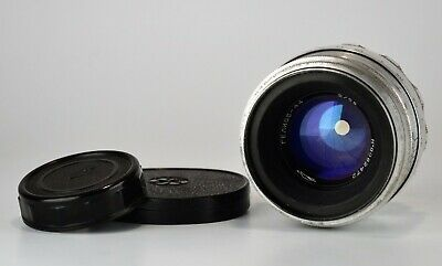 13-BLADES SILVER RUSSIAN USSR Helios-44 LENS f2/58 M39 for early ZENIT (5)