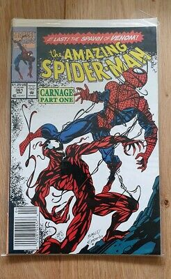 Marvel Comics The Amazing Spider-Man #361 (1992) First Full App Carnage