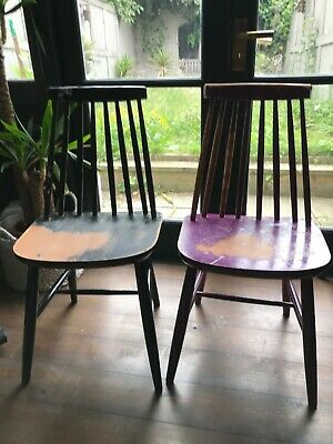 Two Ercol Style Windsor Chairs