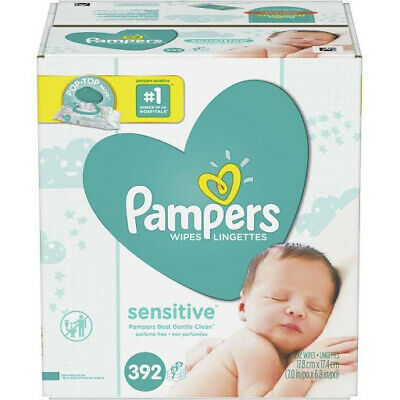 Sensitive Baby Wipes - 392 count