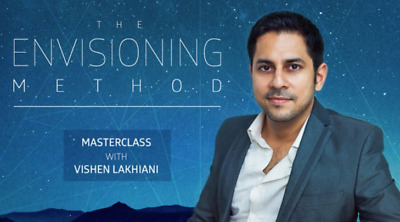 Vishen Lakhiani – The Envisioning Method  Video, Audios, Pdf