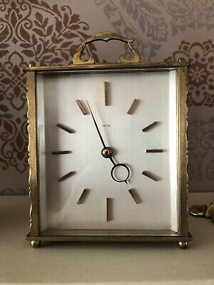 Wonderful Vintage 1950's Smiths Time Piece Mantle Clock - GWO