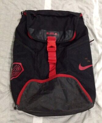 6a5af8e408d12 NIKE LEBRON JAMES Ambassador Basketball Hoops Backpack Gym Shoe Bag ...
