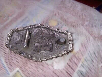 VINTAGE 1970s HARLEY-DAVIDSON MOTORCYCLES  BELT BUCKLE for renovation