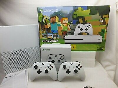 Edition White Microsoft Xbox One 500GB ConsoleMinecraft 2 controller Excellent