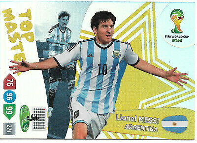 LEO MESSI - Top Master / Panini Adrenalyn World Cup Brazil 2014