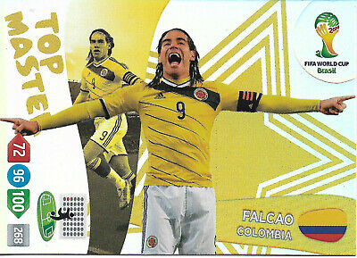 FALCAO - Top Master / Panini Adrenalyn World Cup Brazil 2014