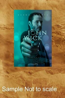 NEW JOHN WICK 1 POINTING GUN , LAMINATED,ART POSTER,FINE ART,PRINT,DECOR from A3