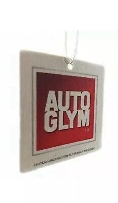 10x Autoglym Hanging Car Interior Air Freshener