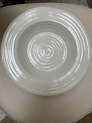 Sophie Conran For Portmeirion White Rimmed Soup/Pasta Plate (x6 Setting)