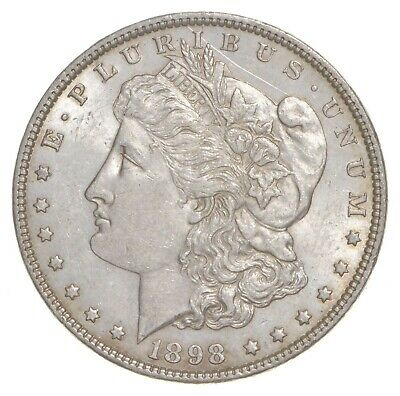 AU/Unc - 1898 Morgan Silver Dollar $1.00 High Grade *194