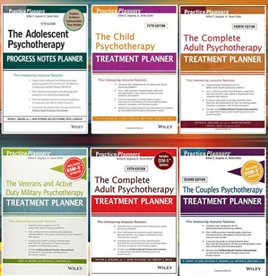 The Complete Adult Psychotherapy Treatment Planner and 6 Bonus