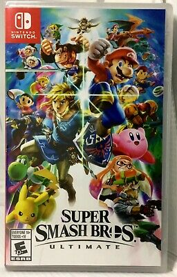 Super Smash Bros. Ultimate (Nintendo Switch, 2018) BRAND NEW, WRAPPED