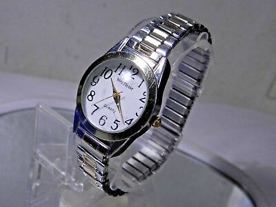 Women's Waltham Watch. Comfortable Expansion Band. New Battery. 2 Year Warranty