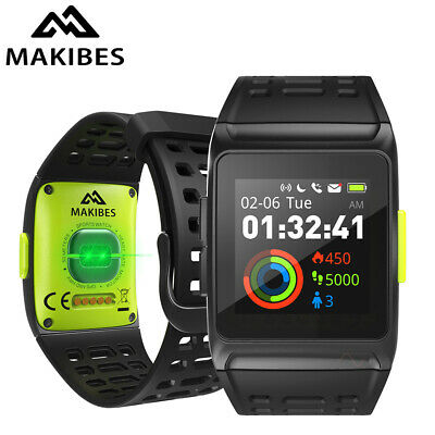 Makibes BR1 GPS Smart Watches Bluetooth Strava Wristwatch Fitness Tracker ECG