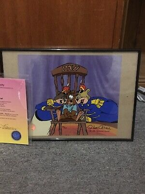 Chuck Jones Signed Cell