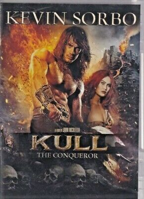 Kull the Conqueror (1997) Kevin Sorbo, Tia Carrere DVD very good condition