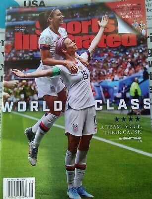 SPORTS ILLUSTRATED -WOMANS WORLD CUP -ALEX MORGAN -RAPINOE July 15' 2019 NO...