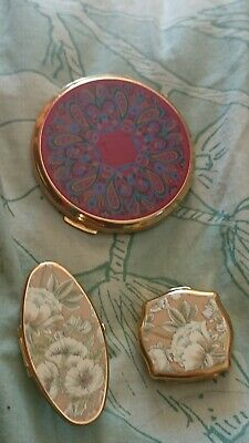 Stratton Compact, Ring Mirror And Pill Box