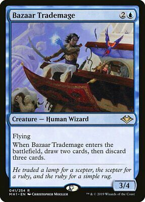 Magic the Gathering MTG Modern Horizons - BAZAAR TRADEMAGE - NM