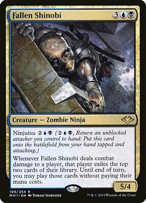 Magic the Gathering MTG Modern Horizons - FALLEN SHINOBI - NM
