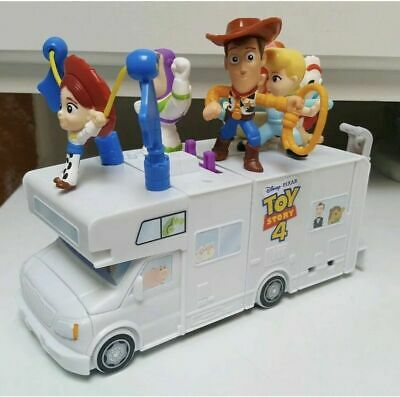 McDonalds Toy Story 4 Happy Meal Complete Set & 4 Happy Meal Boxes ULTIMATE LOT!