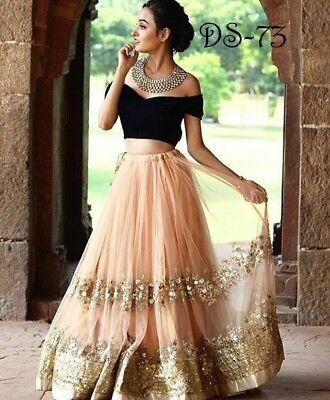 New Lengha Choli Designer Wedding Wear Saree Heavy Anarkali Suit Lehenga PV