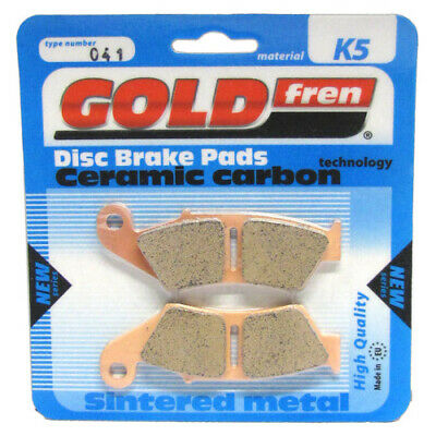 Rear Disc Brake Pads for Ducati 748S Superbike 2001 748cc By GOLDfren