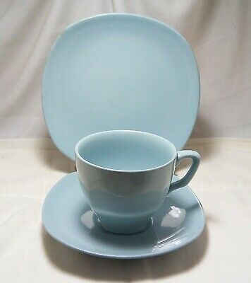 Vintage Johnson Australia Trio Square Blue