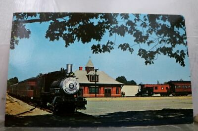 Ohio OH Railroad Museum Cuyaloga Falls Postcard Old Vintage Card View Standard